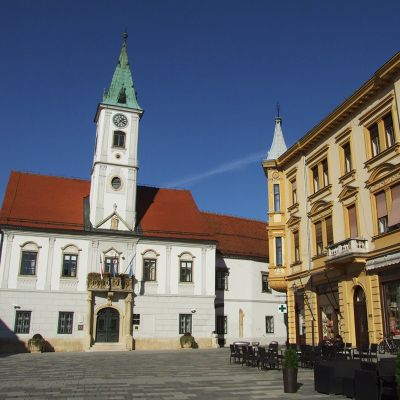 The city of Varaždin